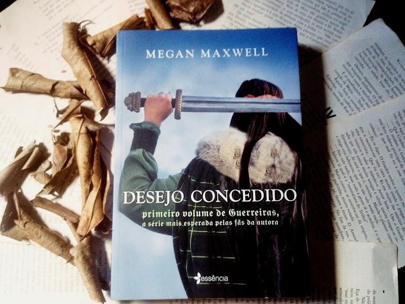 [RESENHA #584] DESEJO CONCEDIDO #1 - MEGAN MAXWELL