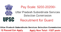 Uttar Pradesh Subordinate Services Selection Commission Recruitment