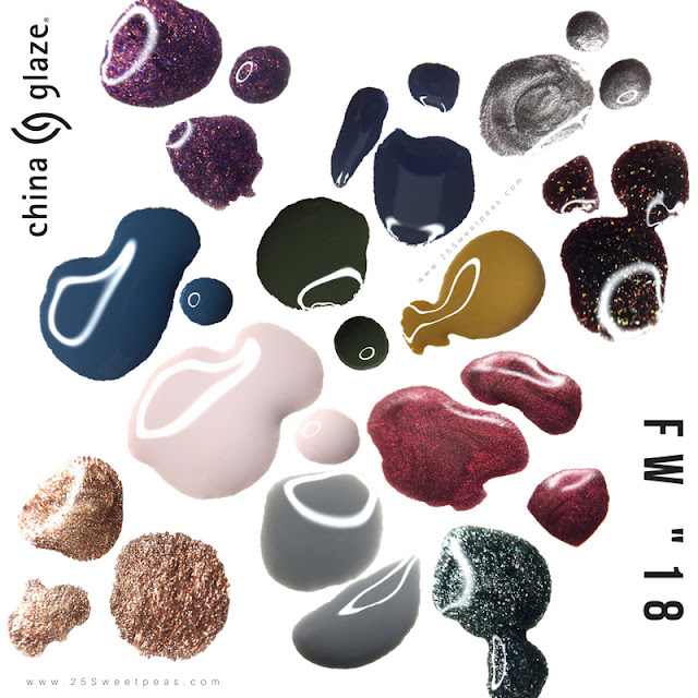 China Glaze FW 18 Collection