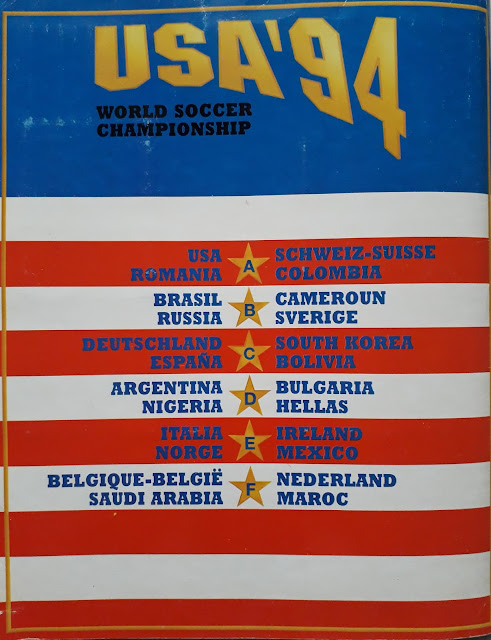 USA 94 WORLD SOCCER CHAMPIONSHIP