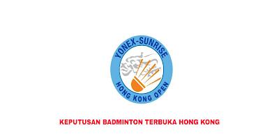 Keputusan Badminton Terbuka Hong Kong 2019 (Jadual)