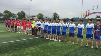 Giao lưu bóng đá Viglacera