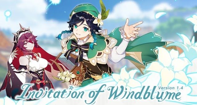 Invitation of Windblume Version 1.4