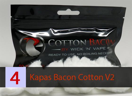 Kapas Vapor Bacon Cotton V2