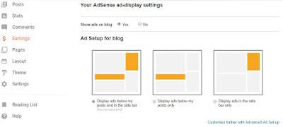 Mengaktifkan Iklan Google Adsense