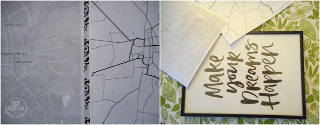 mapa do druku