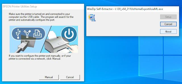 EPSON Printer Utilities Setup