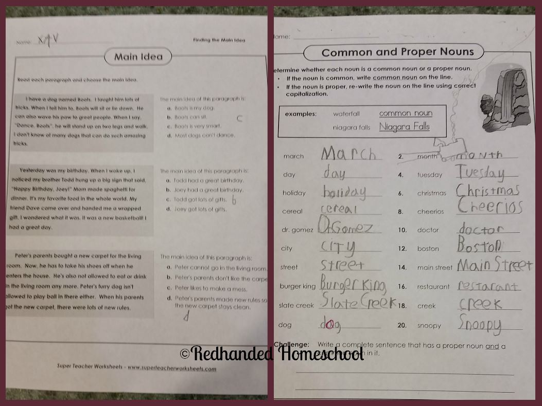Insane In The Mombrain Super Teacher Worksheets A