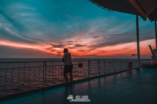Sunset view on starcruises superstar libra - How To Get 'Teal and Orange' Look Using Adobe Lightroom