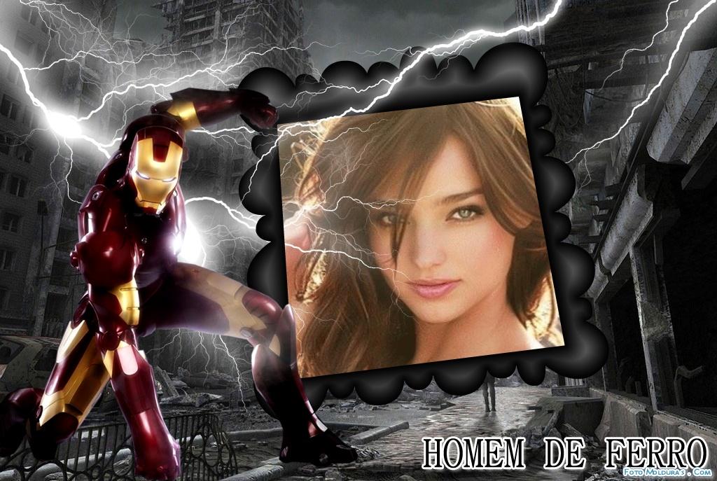 Pagina para Editar Fotos: Marco de Iron Man