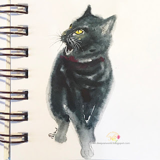 Inktober-Cats-Day7-HuesnShades