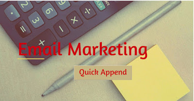 email marketing - Quick Append