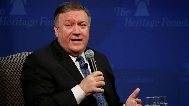 US Secretary of State Mike Pompeo has said that his country is reducing its forces from Europe and deploying elsewhere due to China posing a threat to India and Southeast Asian countries.