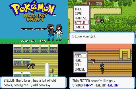 Pokemon HarvestCraft GBA ROM Hack Download