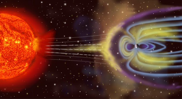 Magnetosfera, Autor NASA, źródło