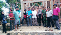 Tim Teknis Monev Pembangunan Rumah Insitu di Kelurahan Jatibaru