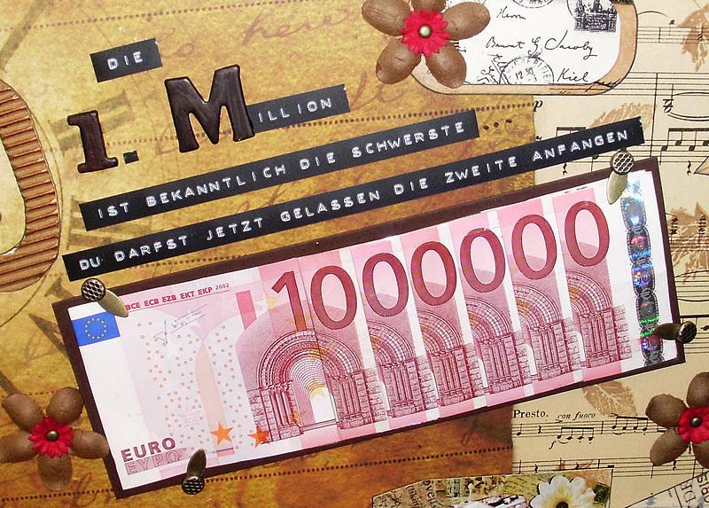 Mamapias Stempelecke Die Erste Million Zum 60 Geburtstag