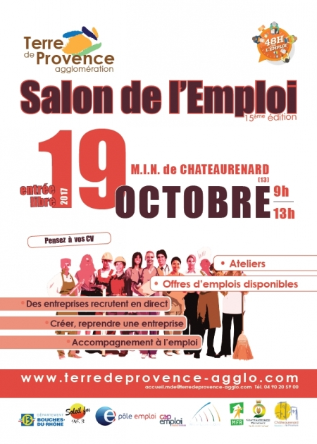 Le journal d 39 eyragues salon de l 39 emploi le 19 octobre for Salon de l emploi