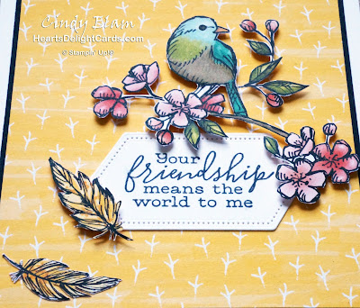Heart's Delight Cards, Free As A Bird, MIF Creativity is Calling, 2019-2020 Annual Catalog, Stampin' Up!