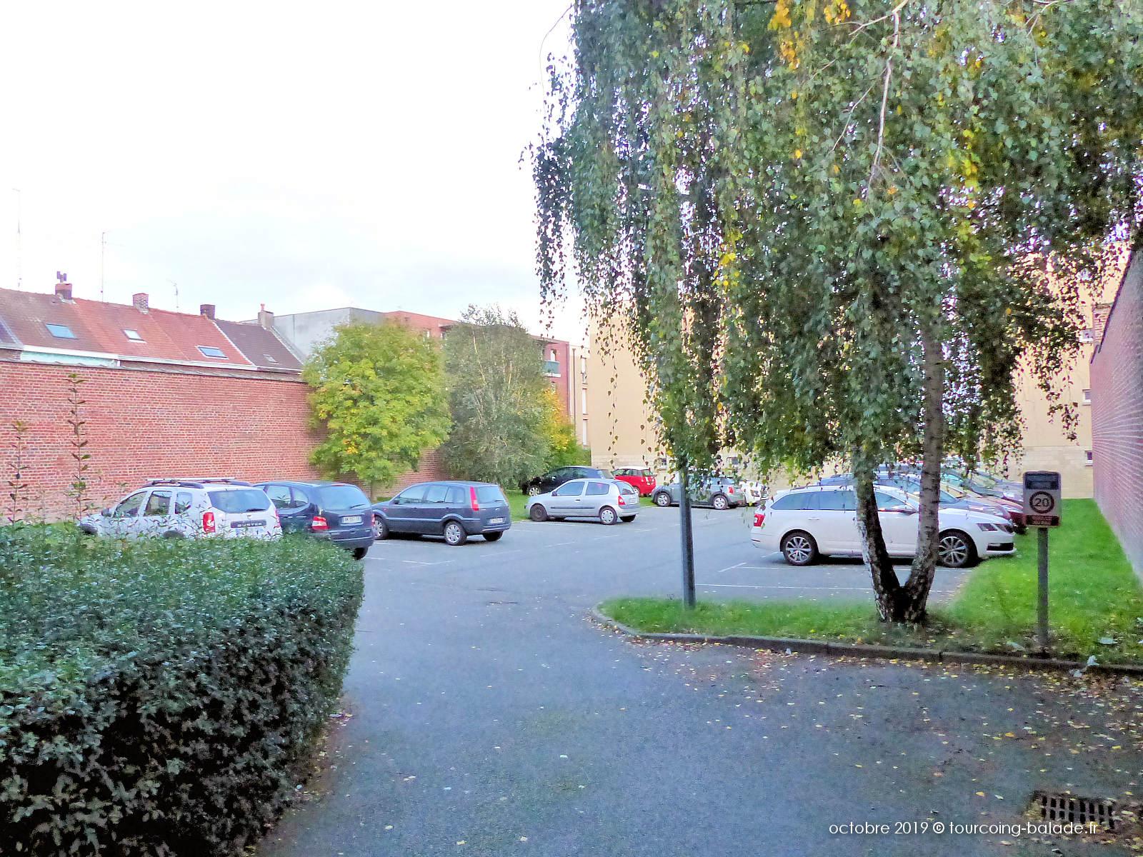 Appartements Tourcoing - Résidence Jacques Prévert, Parking