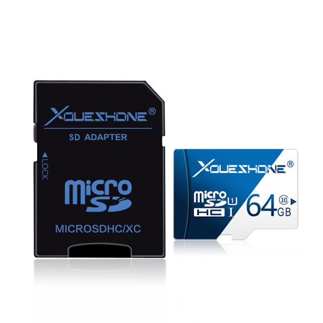 $9.99 / €8.58 Shipped for Youeshone 64GB High-Speed Micro SD Card with SD Adapter for Dash Cam