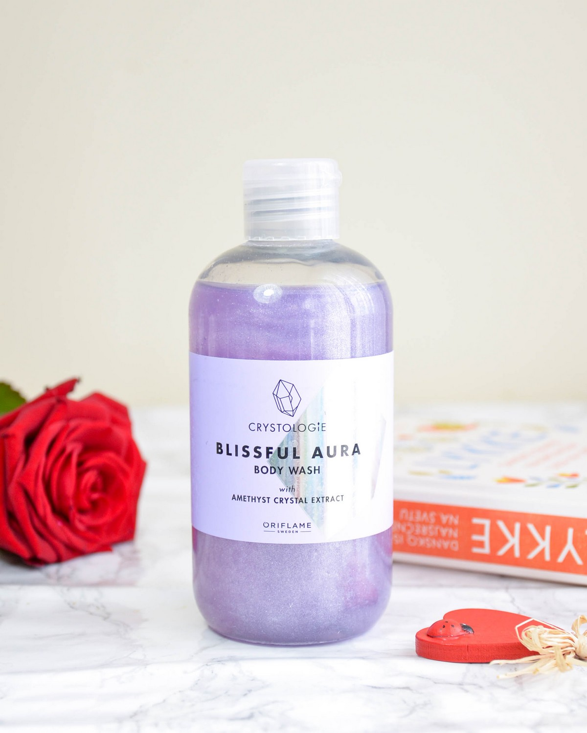 Oriflame Crystologie Blissful Aura Beauty Line Body Wash