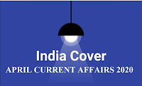 April Current Affairs 2020 India Cover