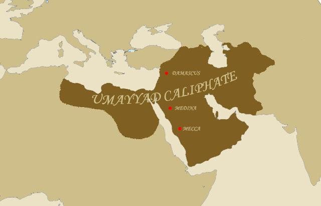 Umayyad Caliphate during Muawiya