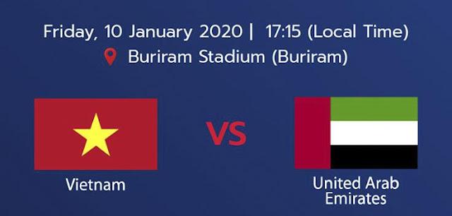 Live Streaming Vietnam vs UAE AFC U23 (10.1.2020)