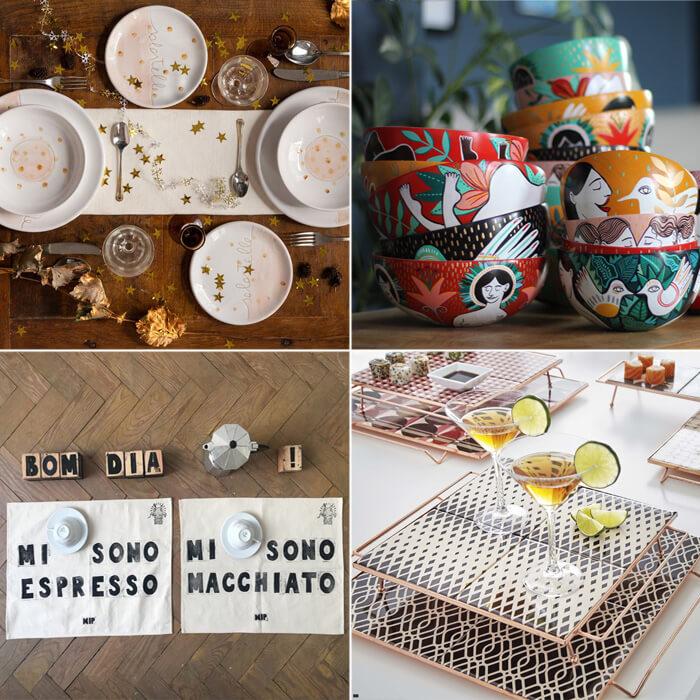 Idee regalo Natale per decorare la tavola