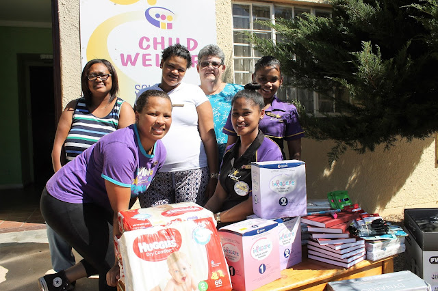 Child Welfare South Africa Worcester - Hollywoodbets - Donation - Charity