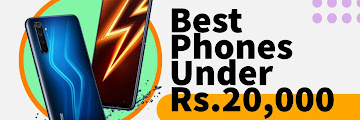 6 Best Phones Under 20000 in India | Best Phones Under 20000 | Best Phones in India.