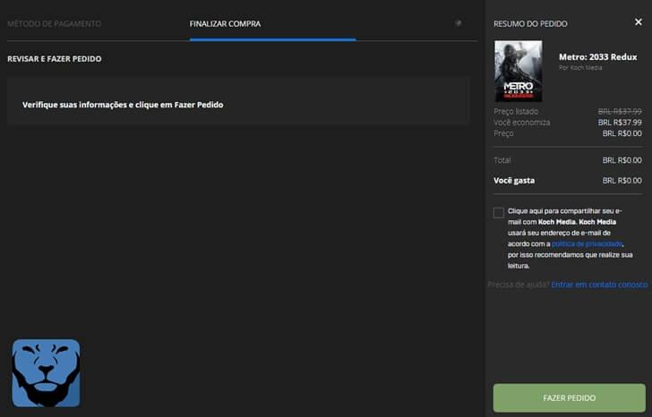 Metro 2033 Redux de graça para PC por tempo limitado! Corre e confira como baixar