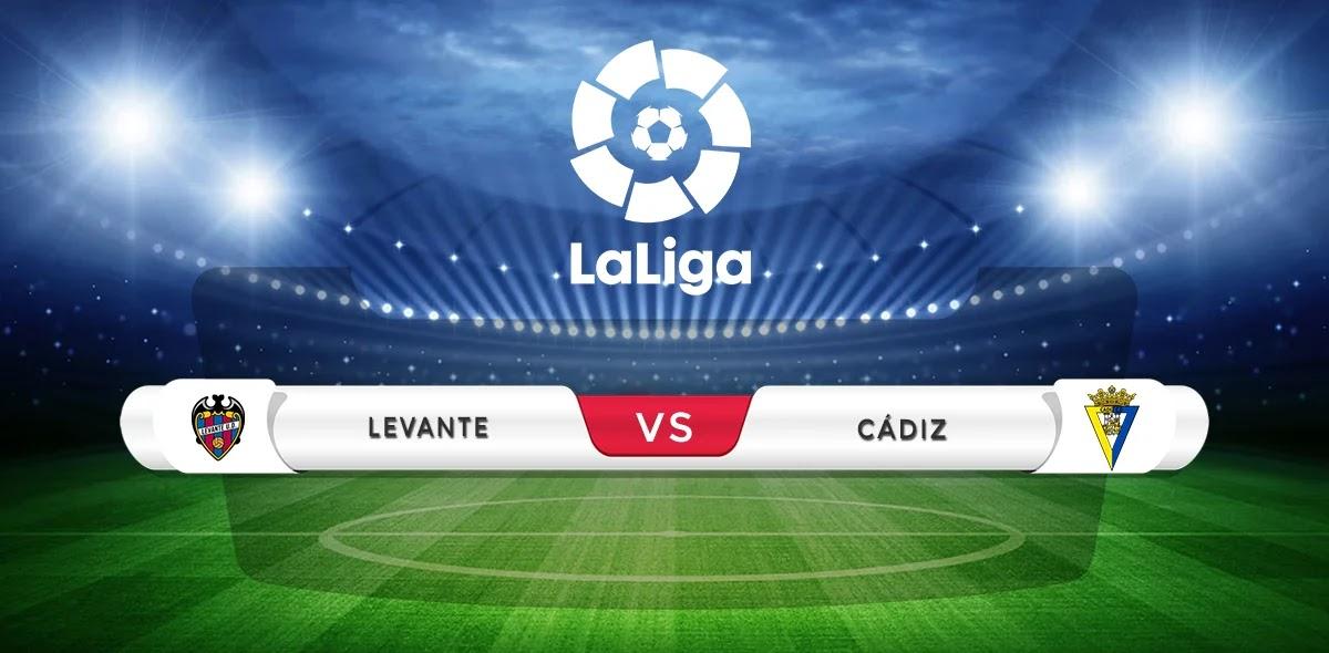 Levante vs Cadiz Prediction & Match Preview