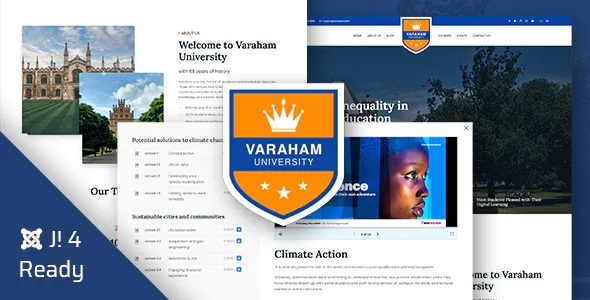 Best Education University Joomla 4 Template