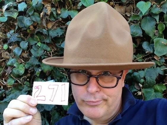 a17a6923589 Day 271   Hat 271  Camel-colored felt Vivienne Westwood