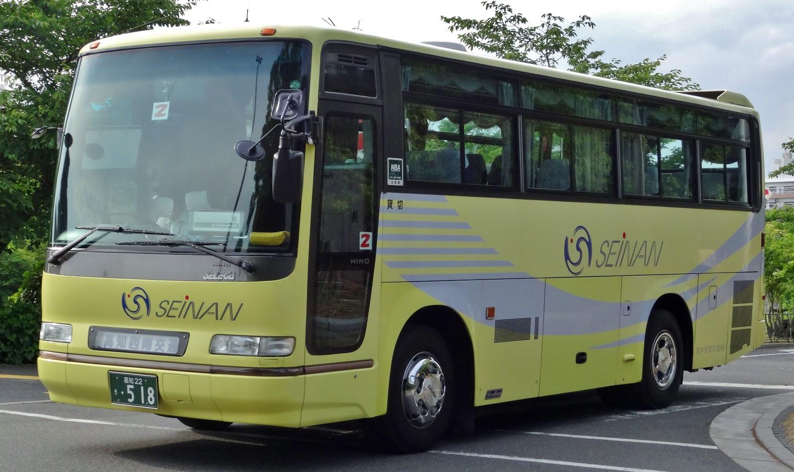 広島のバス: 高知西南交通 高知22き518