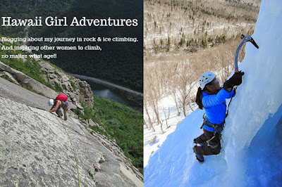 blog, rock climbing, ice climbing