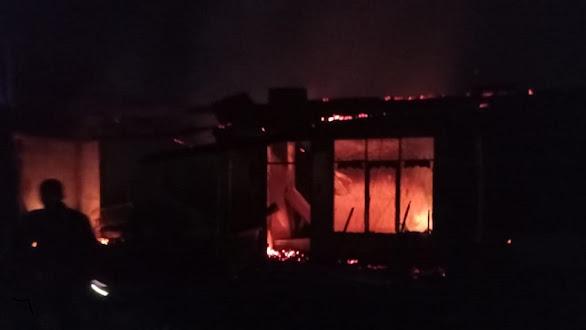 Seorang lansia tewas dalam musibah kebakaran rumah di Medan