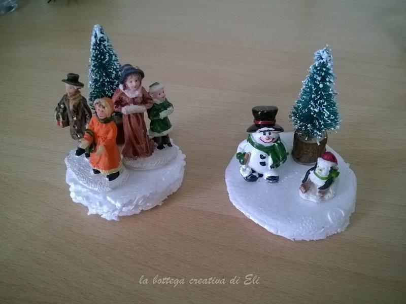 come realizzare palle di neve con barattoli di vetro