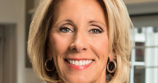 Betsy Devos Ignorance Is Not Compelling >> The Turner Report Betsy Devos And The Blunt Connection