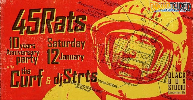 [News] 45RATS, 10 years anniversary party