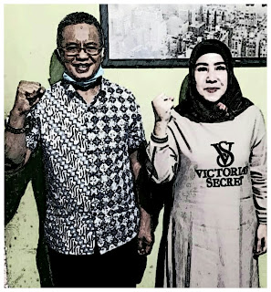 Resmi Berpasangan dengan Umi Eka, H Arifin Siap Mendaftar di Pilkada Bima