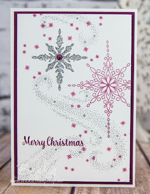 Star Of Light Recessed Star Christmas Card - Buy Stampin' Up! UK here