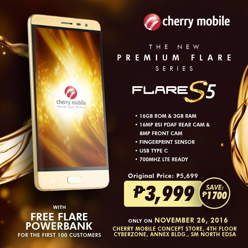 Cherry Mobile Flare S5