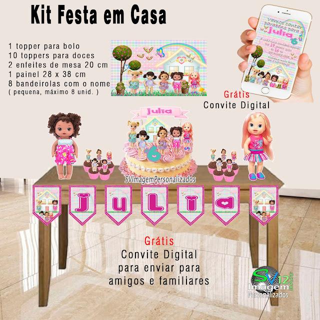 Baby Alive dicas e ideias para decoração de festa personalizados
