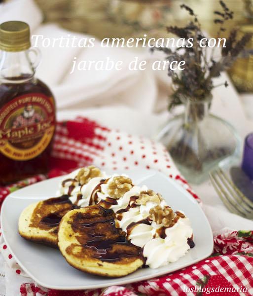 Tortitas americanas con jarabe de arce en TM6