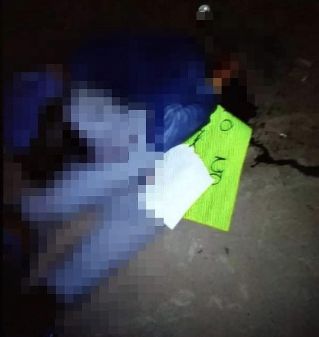 """Ejecutan a ladrón en San Luis Potosí """"Prometo no volver a robar"""" le dejaron en una cartulina"""