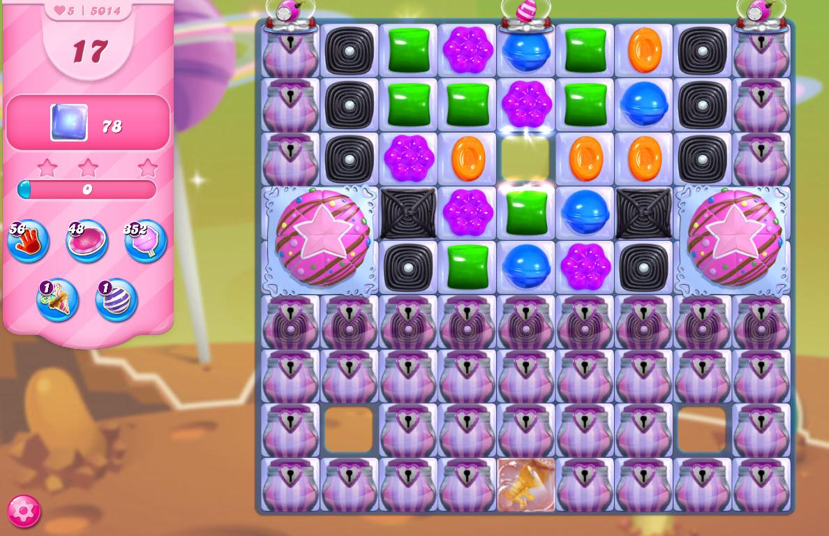 Candy Crush Saga level 5014