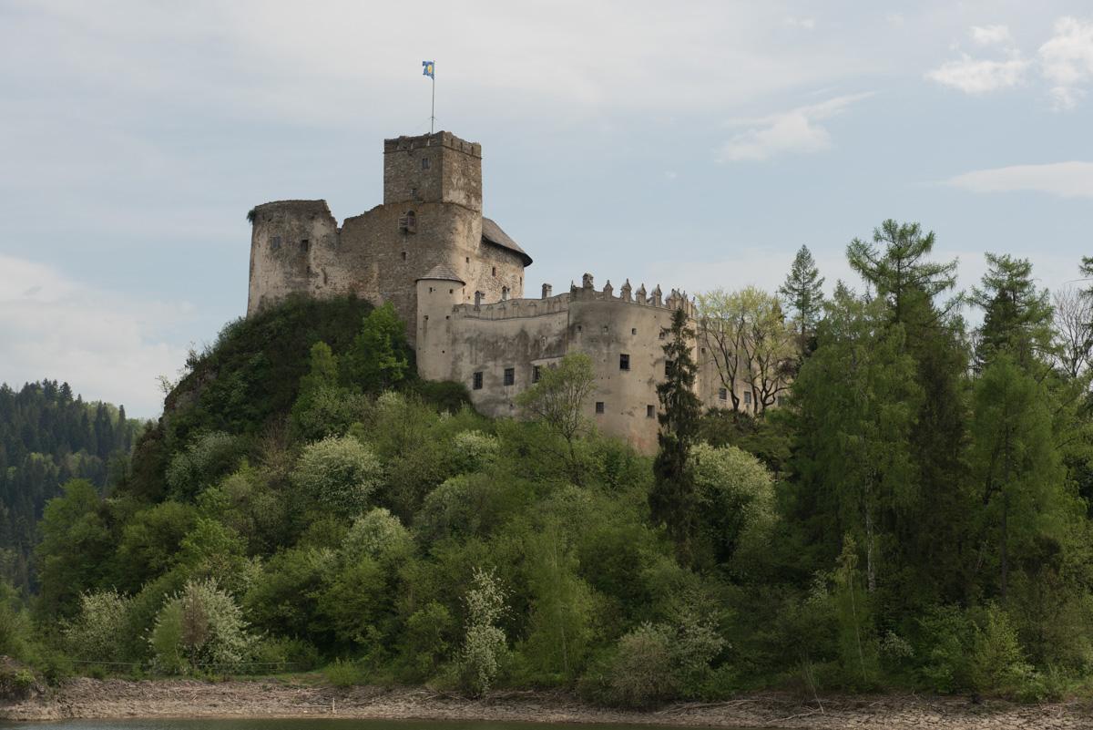 zamek Dunajec castle in Niedzica